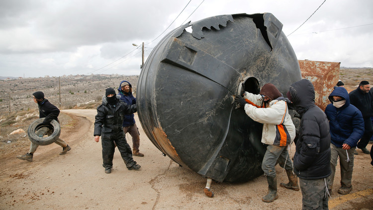 فلسطينيون يحتجزون 4 مستوطنين مسلحين في قرية كسرى قرب نابلس