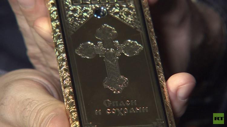 هاتف ذكي بسعر 25 ألف دولار يعرض في موسكو
