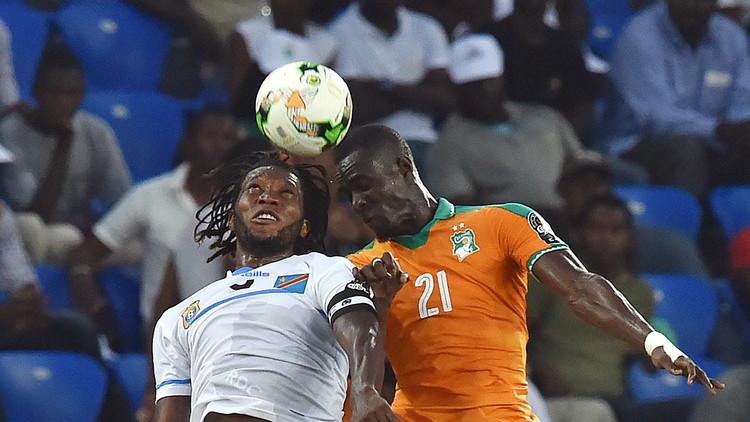 ساحل العاج تكتفي بالتعادل مع الكونغو في أمم أفريقيا