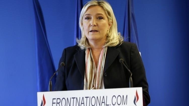 لوبان: القيادات الأوروبية عقائدية ومعادية للديمقراطية