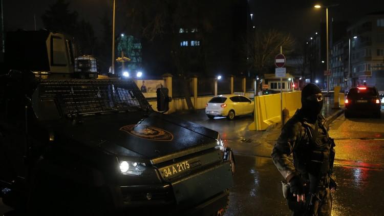 اعتقال مشتبه به في هجمات صاروخية باسطنبول
