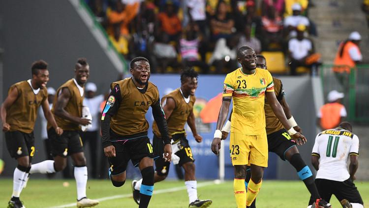 غانا تهزم مالي وتصعد إلى ربع نهائي أمم أفريقيا