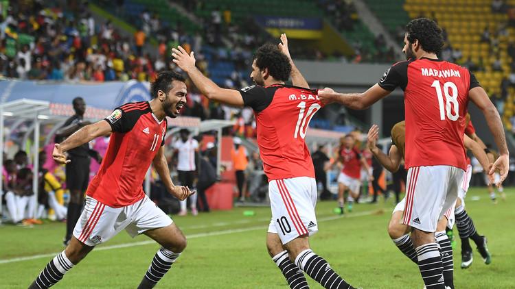 مصر تنعش آمالها بفوز ثمين على أوغندا في أمم أفريقيا