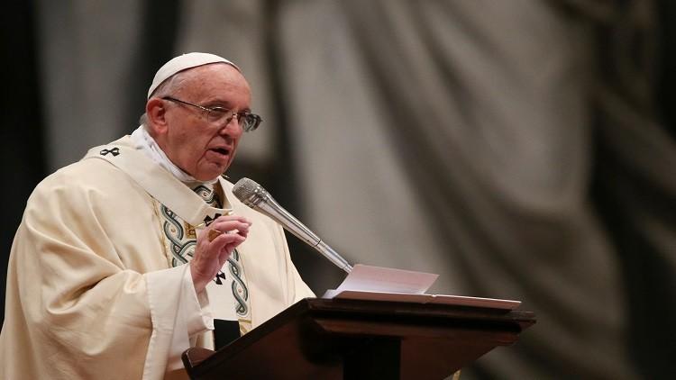 البابا فرنسيس يحذر من