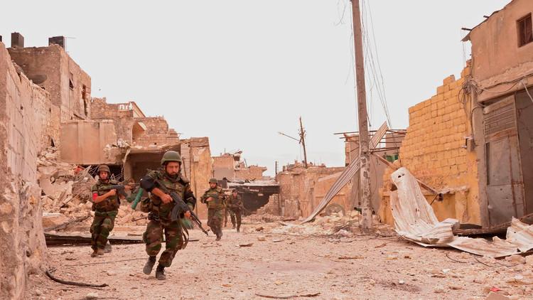 استمرار الاشتباكات بين الجيش السوري والمسلحين