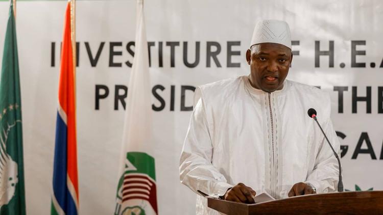 رئيس غامبيا الجديد: خزائن الدولة خاوية
