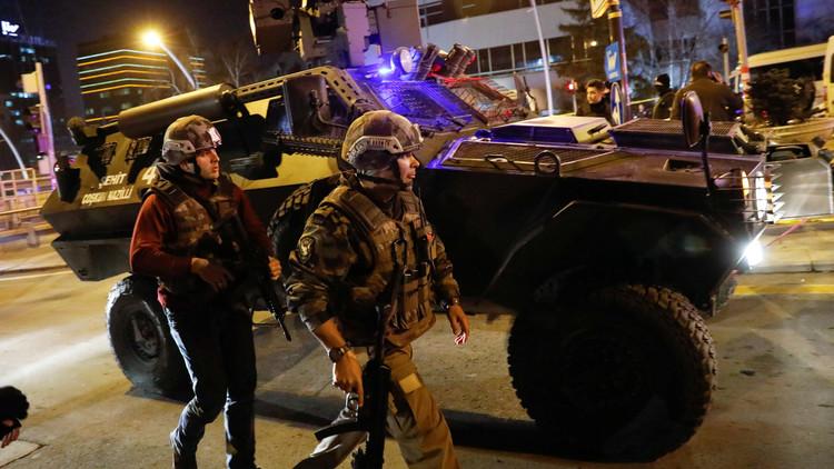 مقتل منفذ الهجوم على مقر