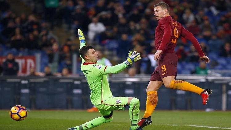 روما يستعيد الوصافة من نابولي بفوزه على كالياري