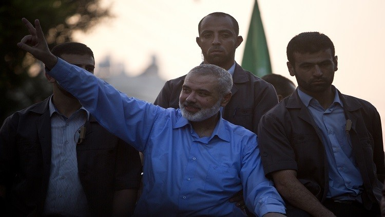 إسماعيل هنية في القاهرة