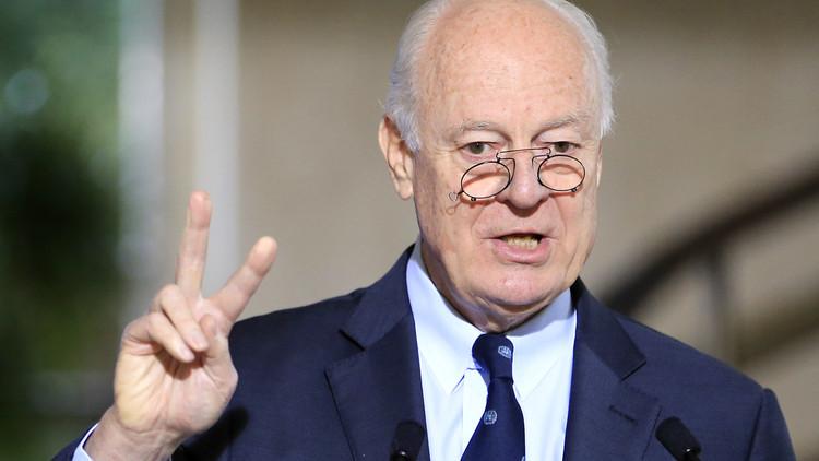 دي ميستورا: أستانا تمهد لمفاوضات حقيقية في جنيف