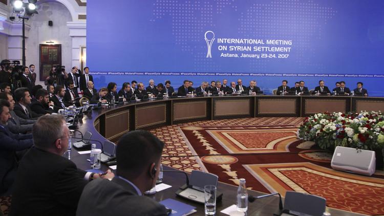 أولويات قطبي المفاوضات في الجولة الأولى من لقاء أستانا