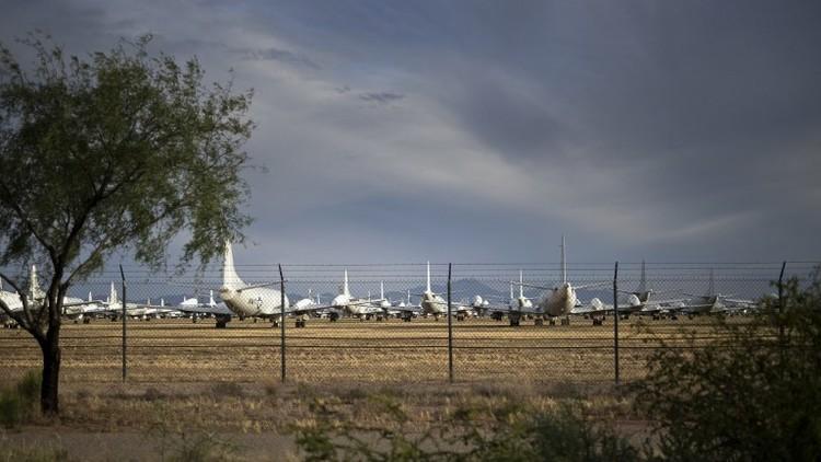 إعلان الإنذار في قاعدة عسكرية أمريكية
