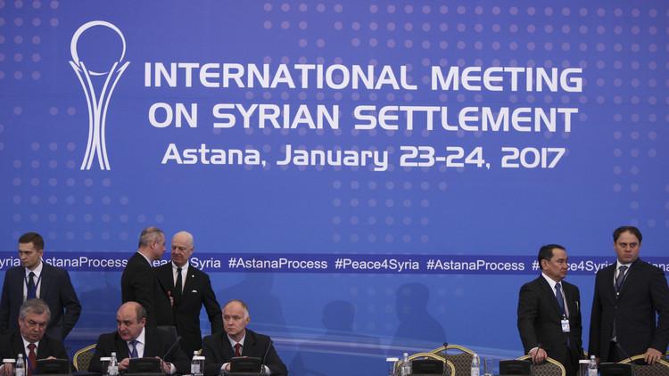 حصاد اليوم الأول .. روسيا تصف المفاوضات السورية في أستانا بالناجحة