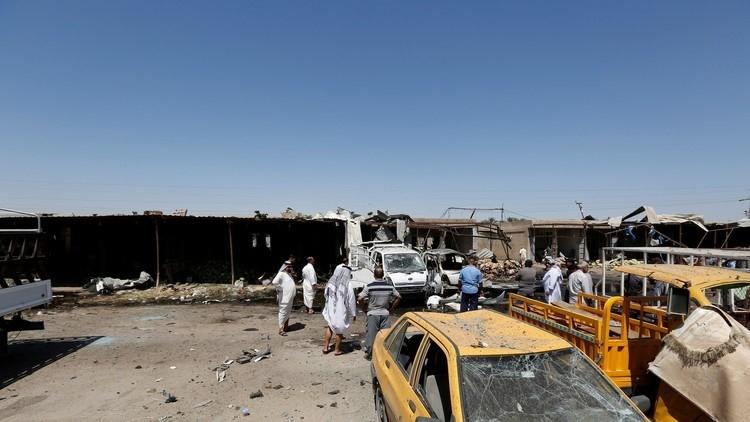 قتلى وجرحى بانفجار سيارة مفخخة وسط بغداد