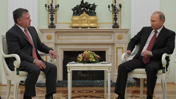 العاهل الأردني في موسكو الأربعاء