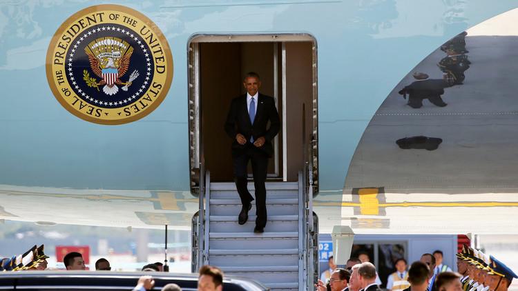خارطة الدول التي زارها أوباما طيلة رئاسته للولايات المتحدة الأمريكية