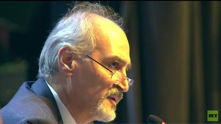 الجعفري: ننتظر من المعارضة المسلحة الانضمام إلى الجيش السوري في قتال