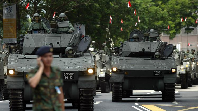 الصين ستفرج عن ناقلات جنود سنغافورية محتجزة