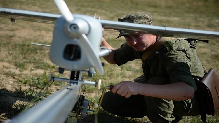 الجيش الروسي يتسلح بطائرة بدون طيار للتشويش على الاتصالات