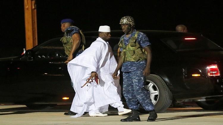 غينيا الاستوائية تمنح اللجوء السياسي لرئيس غامبيا السابق