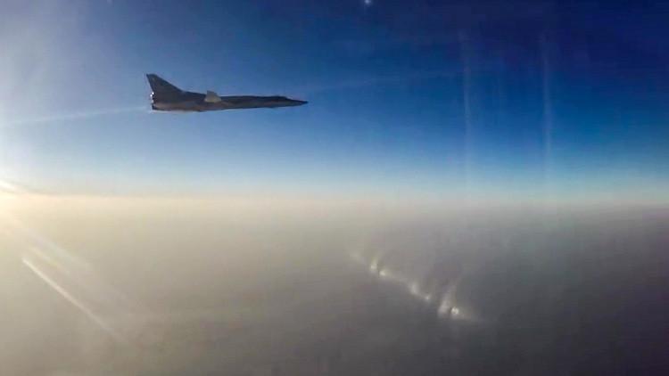 6 قاذفات روسية تقصف مواقع