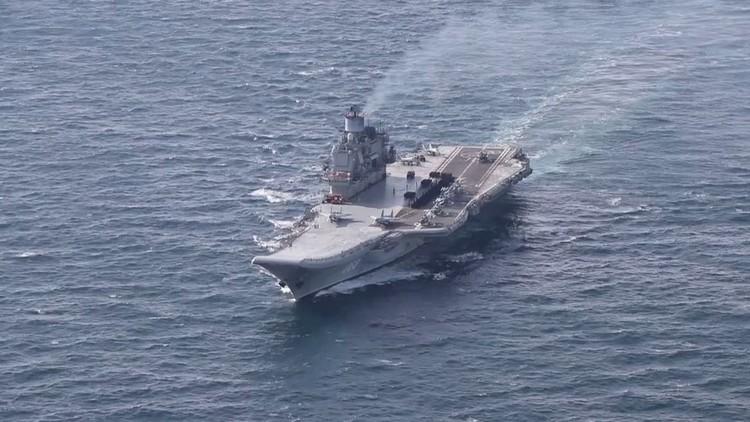 بريطانيا تنشر فيديو لمجموعة سفن
