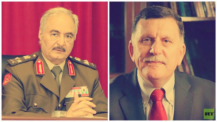 مبادرة جديدة للحل في ليبيا بانتظار لقاء السراج وحفتر