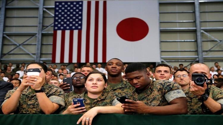 اليابان تنفق ملياري دولار على الوجود العسكري الأمريكي