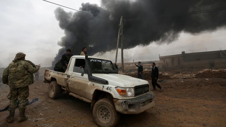 تواصل العمليات العسكرية للجيش السوري بريفي حلب وإدلب