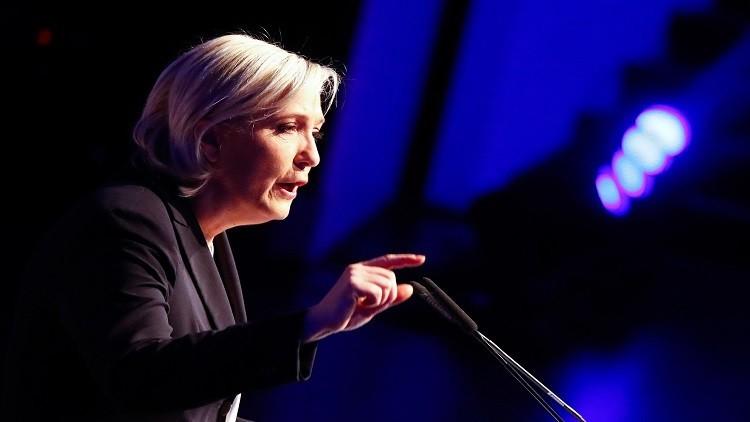 فرنسا.. منع مارين لوبان من دخول مخيم للاجئين!