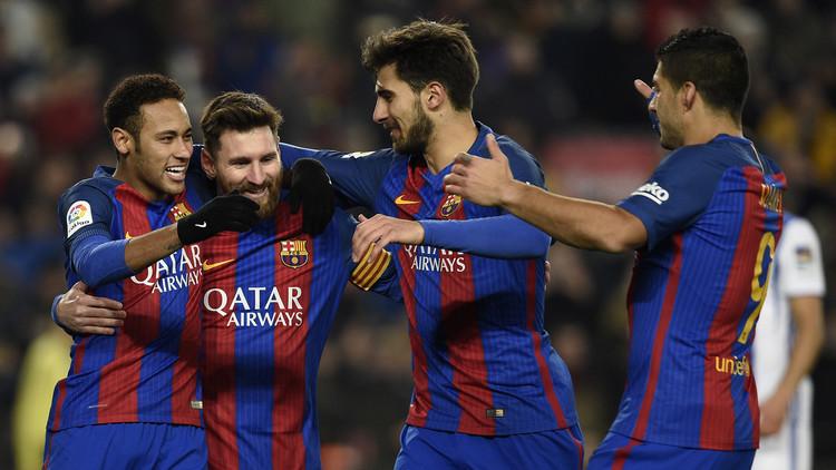 بالفيديو.. برشلونة يكتسح ريال سوسييداد