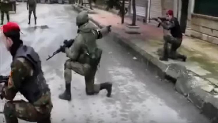 تدريبات روسية سورية في حلب