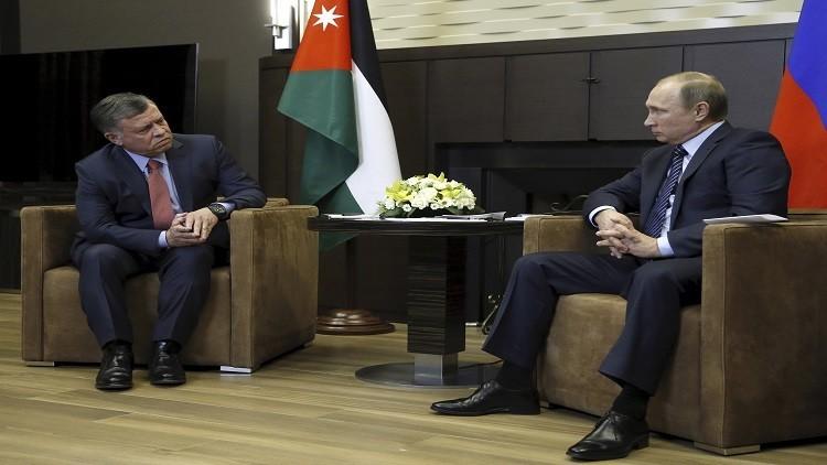 العاهل الأردني يتوجة إلى واشنطن بعد زيارته لموسكو