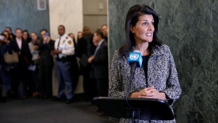 المندوبة الأمريكية الجديدة في الأمم المتحدة تخاطب معارضي بلادها: سنسجل أسماءكم!