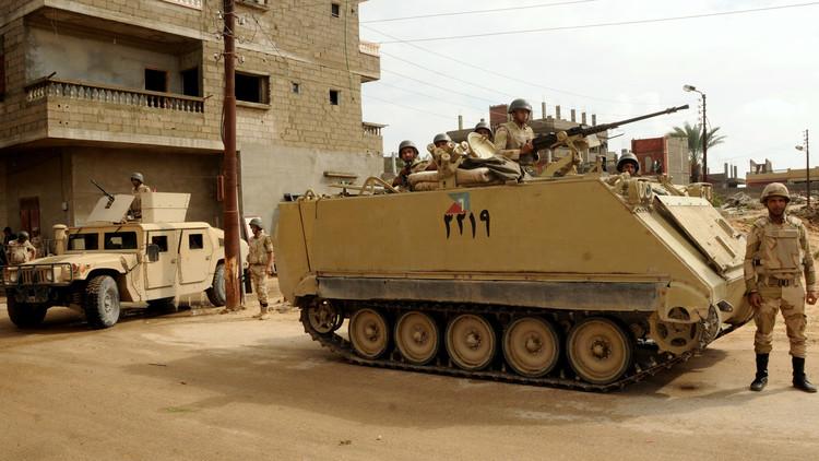 مقتل 20 مسلحا و4 عسكريين في عمليات للجيش المصري بسيناء