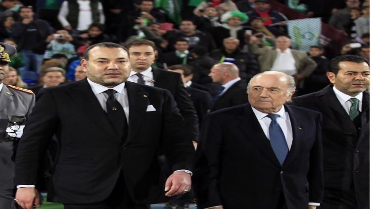 ملك المغرب يطالب منتخب بلاده بالفوز