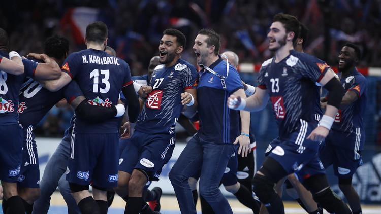 فرنسا تهزم النرويج وتتوج بلقب مونديال اليد