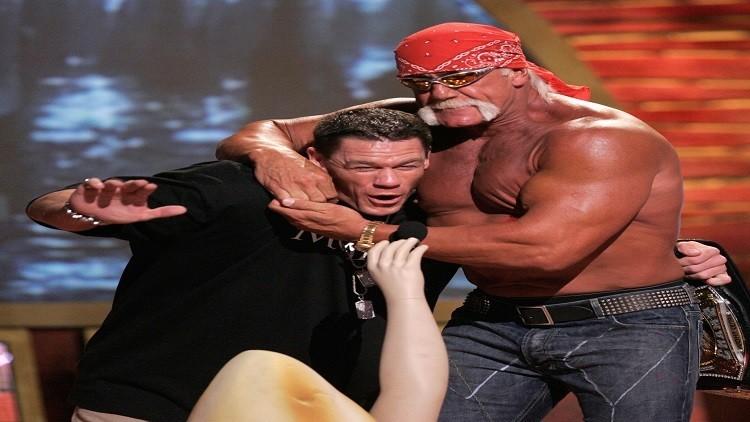 بالفيديو جون سينا يحطم الرقم العالمي لألقاب WWE