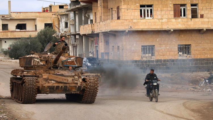استسلام 280 مسلحا في درعا السورية