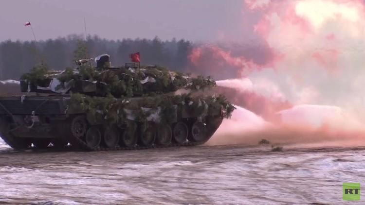 مناورات عسكرية للناتو في بولندا