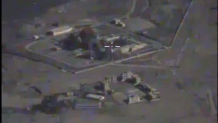 شاهد كيف دمرت قاذفة روسية موقعا لداعش في دير الزور السورية