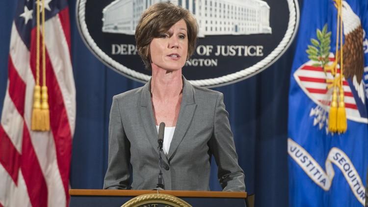 ترامب يقيل القائمة بأعمال وزير العدل لرفضها تنفيذ المرسوم الرئاسي للهجرة