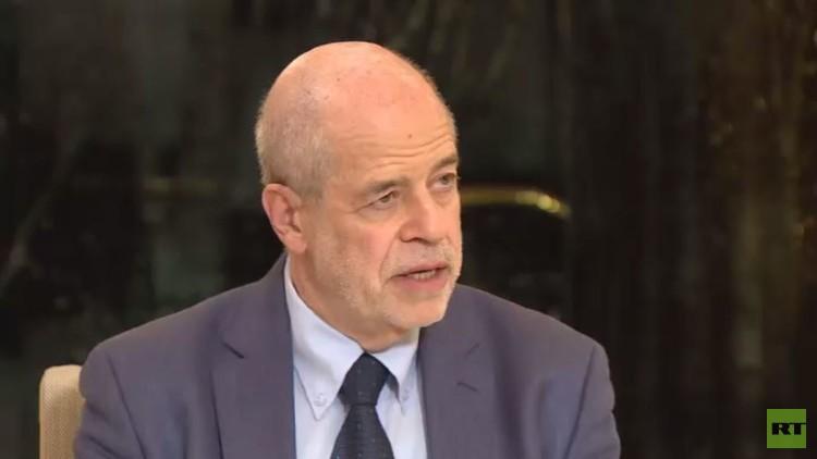 فيتالي نعومكين رئيس معهد الاستشراق في موسكو ومستشار المبعوث الأممي إلى سوريا