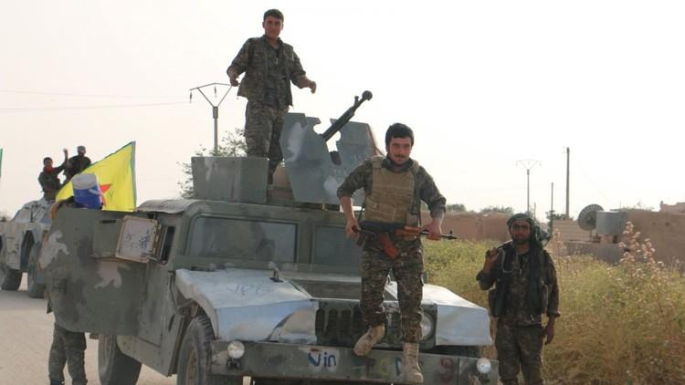 واشنطن تزود لأول مرة قوات سوريا الديمقراطية بالمدرعات