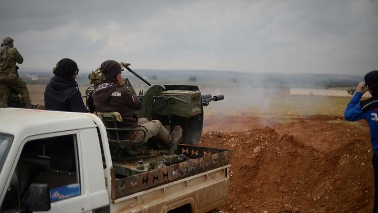 احتدام القتال بين القوات السورية و