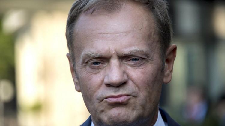 توسك: تفكك الاتحاد الأوروبي سيؤدي إلى تبعيتنا لموسكو وبكين وواشنطن