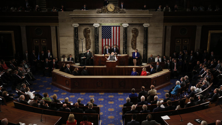 مشروع قرار في الكونغرس الأمريكي يسمح باستخدام القوة ضد إيران