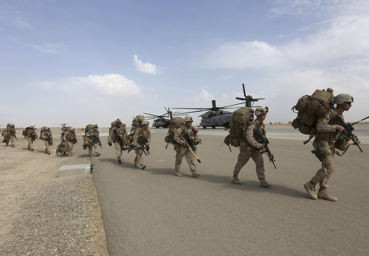 مشاة البحرية الأمريكية سيرابطون في أفغانستان - RT Arabic