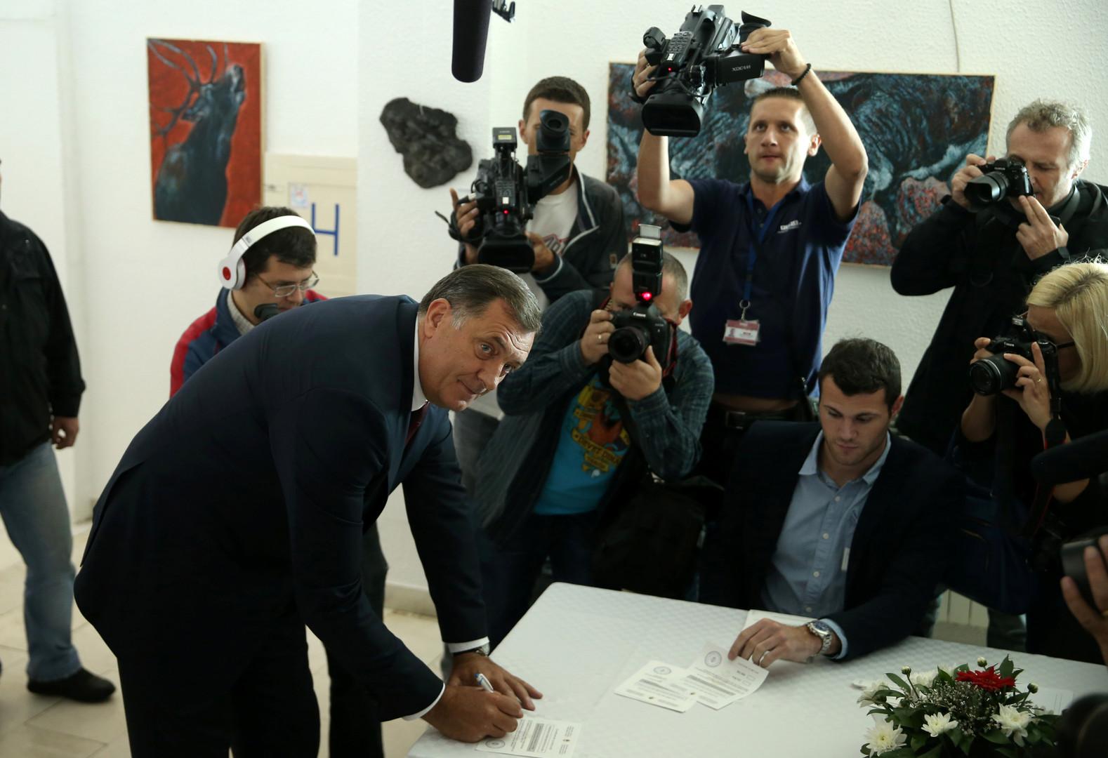 رئيس جمهورية صرب البوسنة يدعو إلى قيام