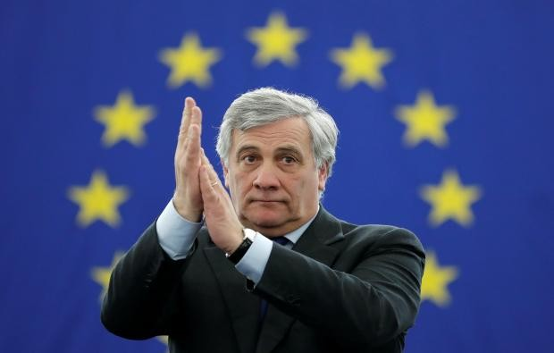 المتحدث السابق باسم برلوسكوني يتولى رئاسة البرلمان الأوروبي